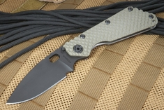 Strider SMF GG Ranger Green and Black Cerakote Folding Knife