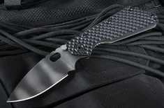 Strider SMF GG Black Tiger Stripes Folding Knife