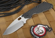 Strider SMF GG Ranger Green Hollow Grinds Tactical Folding Knife