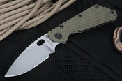 Strider SMF GG Ranger Green Tactical Folding Knife CPM-S30V Steel