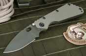 Strider SMF Ranger Green Cerakote Tactical Folding Knife
