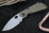 Strider Knives SNG Ranger Green and Stone Wash S-30V