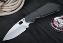 Strider SNG CC Hollow Ground Black Tactical Folding Knife