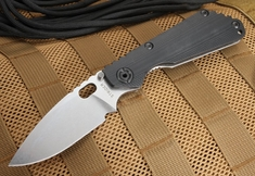 Strider SNG CC Black Tactical Folding Knife