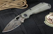 Strider SNG CC Ranger Green  and Digicam Tactical Folding Knife -SOLD