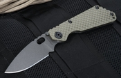 Strider SNG GG Ranger Green and Black Cerakote Folder