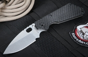 Strider  SNG GG Hollow Ground Black Tactical Folding Knife