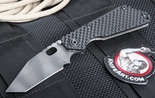 Strider SNG GG T Black Tiger Stripe Folding Knife