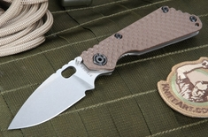 Strider SNG GG Coyote Tan Tactical Folding Knife