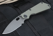 Strider SNG Ranger Green and Black Cerakote Folding Knife