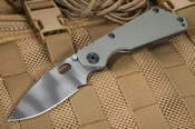 Strider SNG Ranger Green and Tiger Stripes Tactical Folding Knife