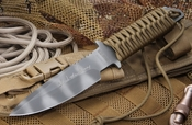 Strider MT-MOD-10 Tan Sniper Chuck Mawhinney Knife