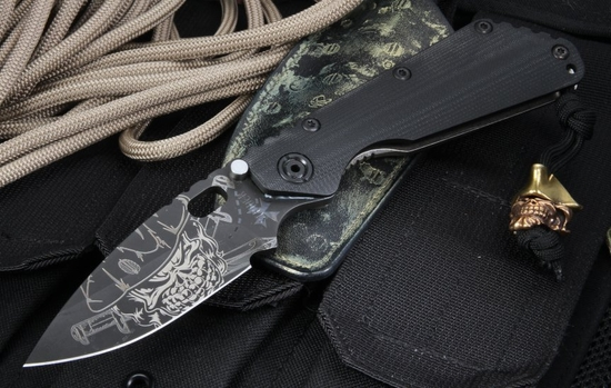Strider Starlingear - The Captain - Z Wear SMF Colab Knife