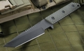 Strider VB GG SS Black and Ranger Green Tactical Fixed Blade Knife -SOLD