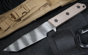 Strider VB GG SS Gunner Grip Spine Serrations Coyote Tan