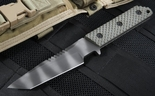 Strider VB GG SS Ranger Green Spine Serrations Fixed Blade - SOLD