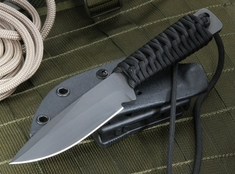 Strider WP Spear Point Black Tactical Fixed Blade