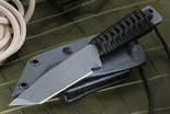 Strider WP T Tanto Black on Black Cord Fixed Blade