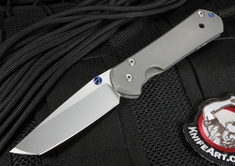 Chris Reeve Small Sebenza 21 Tanto - S35VN Steel - Integral Locking Folding Knife
