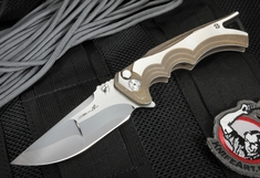 Brian Tighe - S90V Cutting Core - Tighe Fighter Folding Knife