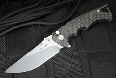 Brian Tighe - Tighe Fighter Drop Point Carbon Fiber and RWL-34