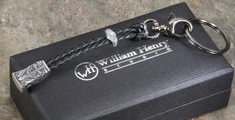 William Henry Touchstone 5 - Silver Dragon Key Chain