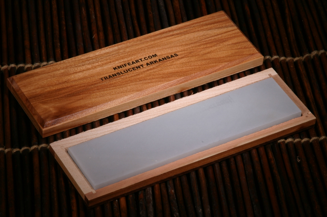 Translucent Arkansas BENCH Sharpening Stone
