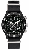 Traser Officer Chronograph Pro Tritium Watch - NATO strap