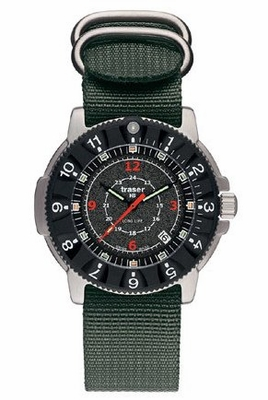 Traser P6502 Long Life - NATO Strap - Tactical Tritium Watch