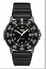 Traser P6504 Black Storm Pro Rubber Band Tritium Watch