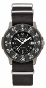 Traser P6506 Commander Force Titanium Watch - Black NATO Strap