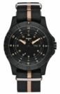 Traser P6600 SAND Watch - Black/Tan Strap