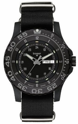 Traser P6600 Shadow Tritium Tactical Watch