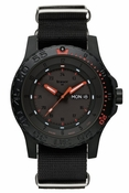 Traser Red Combat Tritium Illumated PVD Coated Watch