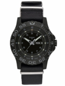 Traser Shade P6600 Tritium Watch - Black NATO Strap w Green Tritium