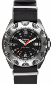 Traser Survivor - Black NATO Strap - Tritium Illimunation - Tactical Watch