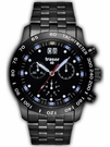 Traser T4004 Classic Chrono Big Date Pro Blue - PVD Tritium Watch