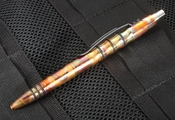 Tuff Writer Pens Exclusive Precision Press - Flammed Copper Pen