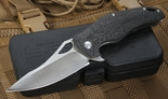 Brous Blades VR-71 Stonewashed and Carbon Fiber Folder