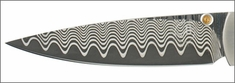 Wave Pattern Damascus ZDP-189