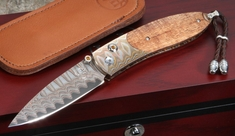 William Henry B05 Oahu Monarch - Damascus and Koa Wood
