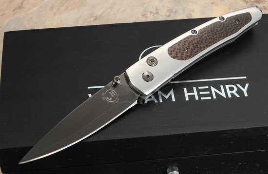 William Henry B10 Blackwood Folding Knife