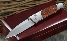 William Henry B30 TIZ Ironwood Folding Knife