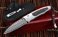 William Henry B30 TMW Fossil Bone & Damascus Folding Knife