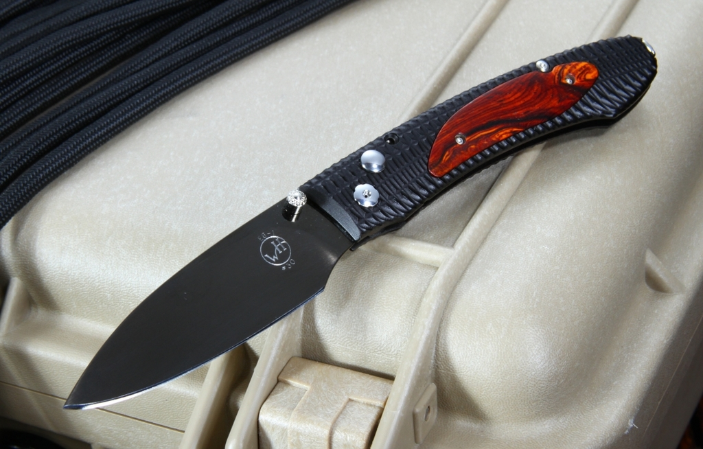 William Henry E6 - 1 EDC Cocobolo Folding Knife