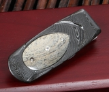William Henry M1 TDM Geneva - Damascus Money Clip