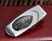 William Henry M1 TNC II Geneva - Titanium & Carbon Fiber Money Clip