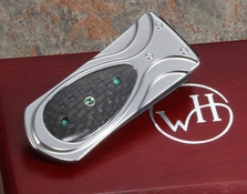 William Henry M3 Krypton Zurich - Money Clip - Carbon Fiber & Titanium