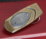William Henry M1 Burst Geneva - Gold & Damscus Money Clip