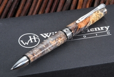 William Henry TW1-1207 Chablis - Box Elder Burl Twist Pen